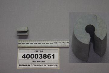 Obrázek Antivibrační část (měnič tepla)