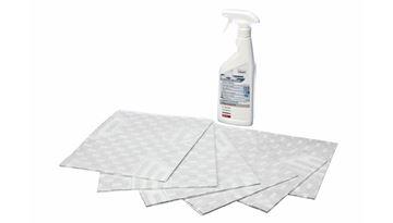 Picture of Tukový papírový filtr a odmašťovací sprej Bosch